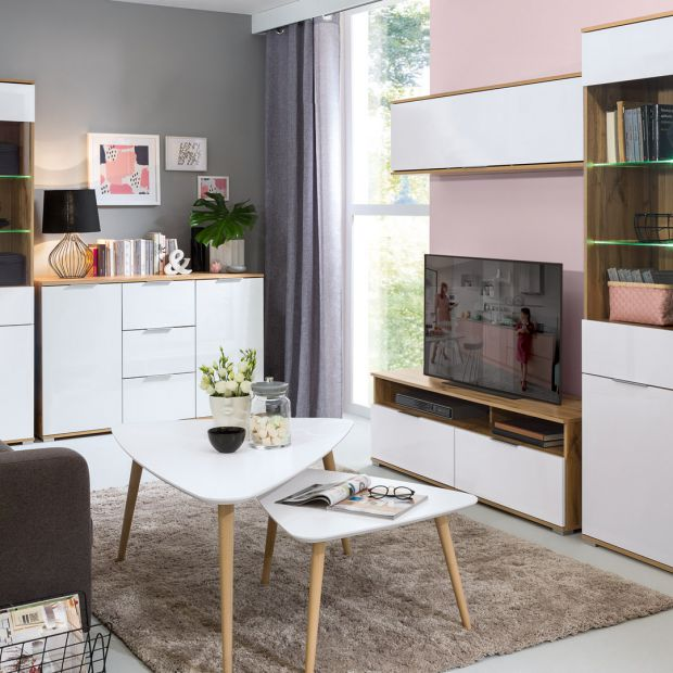 Meble do salonu – przytulny minimalizm w nowych kolekcjach