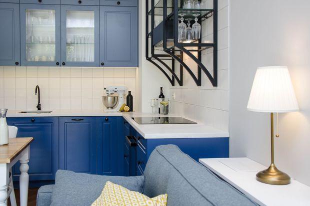 Eleganckie mieszkanie w nadmorskim stylu