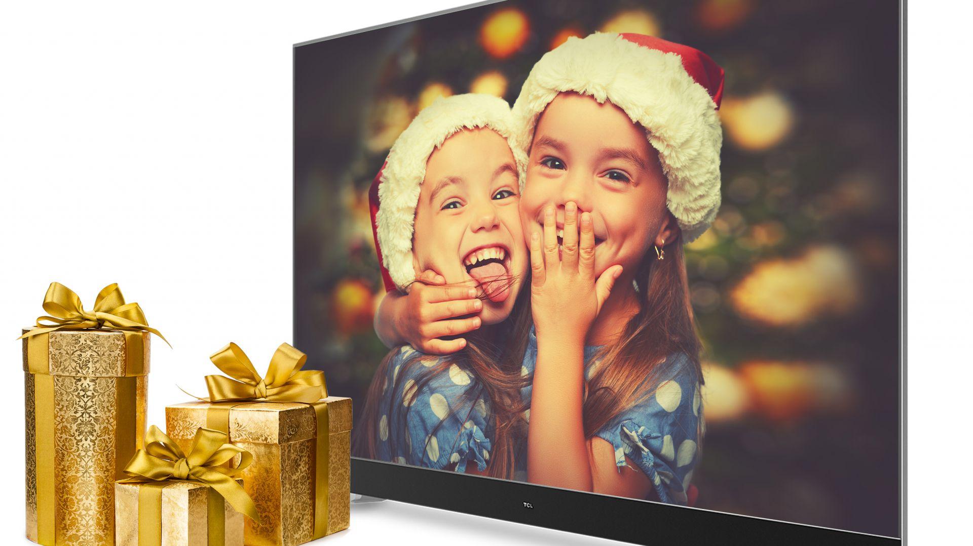 Telewizor TCL C70 55 cali. Fot. TLC