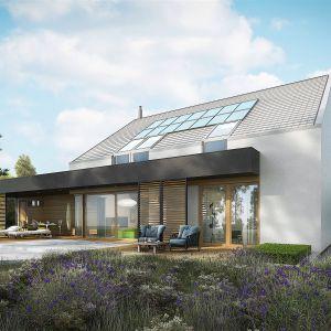 Projekt EX 18 G2 Energo Plus wyprzedza przyszłość, plasując się w najlepszej klasie energetycznej i normach WT przewidzianych na rok 2021. Dom EX 18 G2 Energo Plus. Projekt: arch. Artur Wójciak. Fot. Pracownia Projektowa Archipelag
