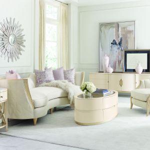 Aranżacja salonu: piękne meble. Fot. Caracole