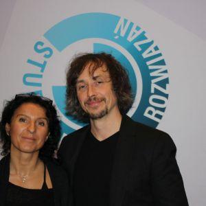 Joanna i Wojciech Małeccy, goście specjalni Studia Dobrych Rozwiązań w Katowicach