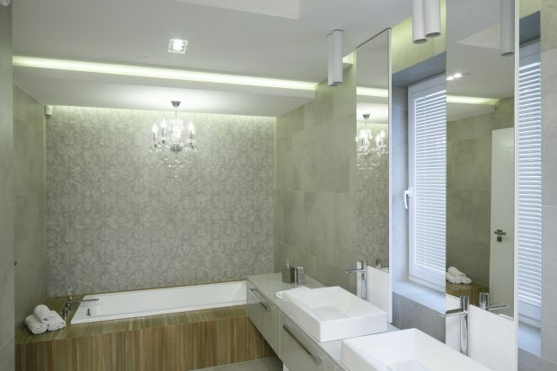 Oświetlenie w łazience - zobacz ciekawe projekty