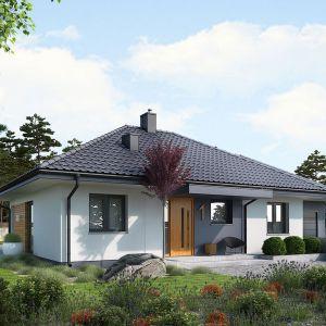 Dom ocieplony styropianem. Projekt domu Mini 1 G1. Fot. Pracownia Projektowa Archipelag