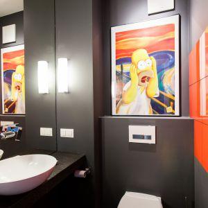 Odważne kolory we wnętrzach. Fot. MGN Pracownia Architektoniczna