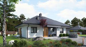 Mini 1 G1 to idealna propozycja dla wszystkich którzy szukają małego domu w nowoczesnym klimacie. Mimo swojego niewielkiego metrażu projekt oferuje wspaniałe warunki do życia i odpoczynku.