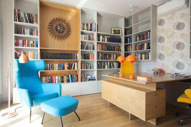 Wygodne wnętrze - kolorowe, rodzinne mieszkanie