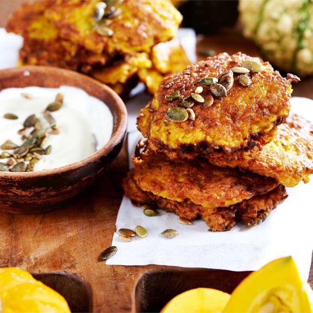 Jesienna kuchnia - poznaj przepis na pyszne placki  z dyni