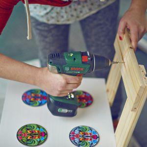 Drewniana kuchenka dla dzieci - zrób ją sam.