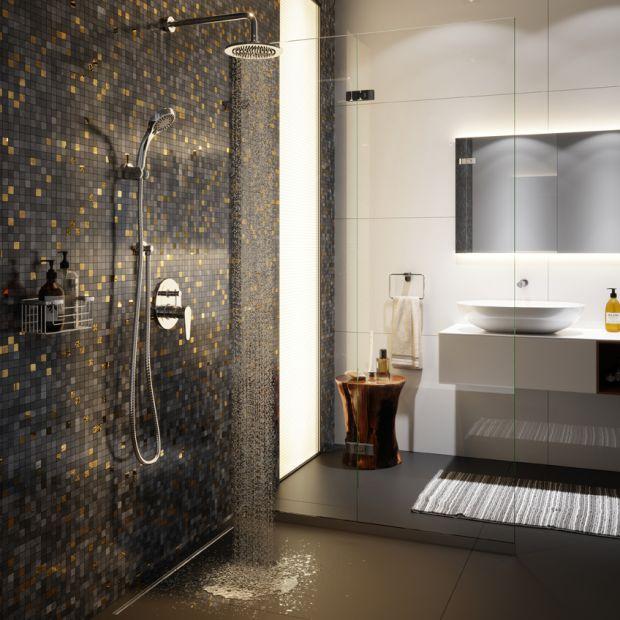 Nowoczesna łazienka - armatura podtynkowa
