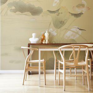 Ręcznie malowane jedwabne fototapety. Fot. Misha Wallpaper