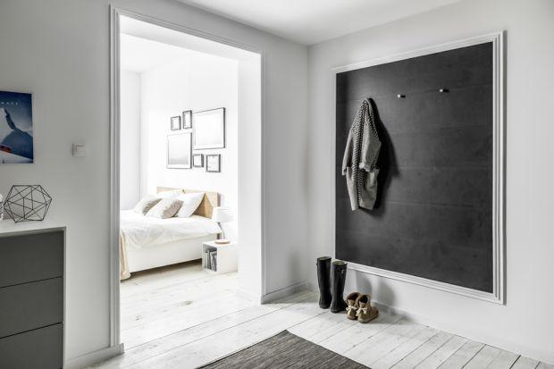 Pomysły na ściany - modny antracyt