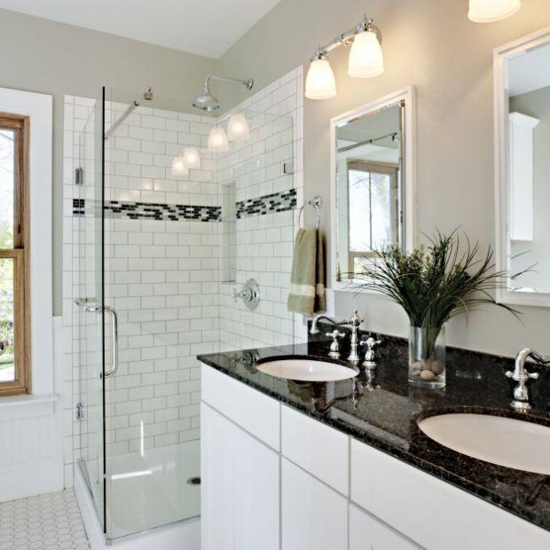 Czarno-biała łazienka. Zobacz, jak modnie ją urządzić