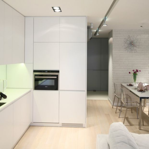 Biała kuchnia w bloku. Zobacz 20 zdjęć