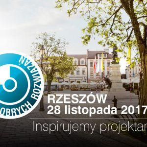 28.11.2017 r. zapraszamy na kolejne Studio Dobrych Rozwiązań w Rzeszowie.