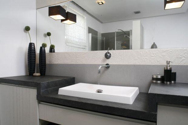 Ściana w strefie umywalki - 15 najciekawszych propozycji