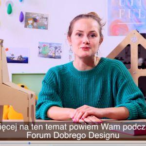 Marysia Szymańska (DaWanda) zaprasza na Forum Dobrego Designu 2017 (wideo)