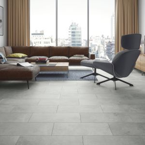 Podłoga Visiogrande Concrete Beige. Fot. RuckZuck
