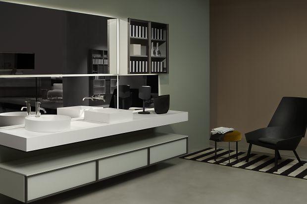 Nowoczesna łazienka - piękna kolekcja włoskich mebli