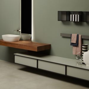 Meble łazienkowe z kolekcji Bespoke. Fot. Antonio Lupi