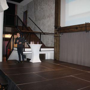 Studio Dobrych Rozwiązań w Rzeszowie. Na zdjęciu: Marcin Wojciechowski,  specjalista ds. marketingu SFA Poland. Fot. Katarzyna Masłowska