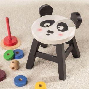 Pomysły na prezent: taboret Panda. Fot. Dekoria.pl