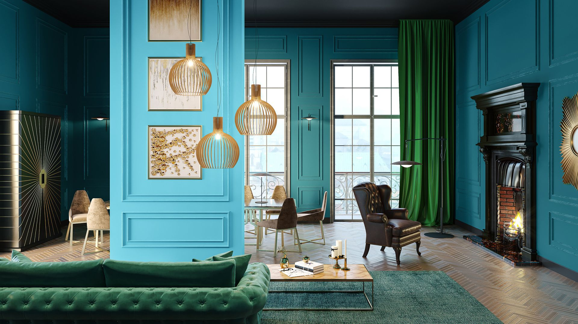 12 Pomysłów Na ściany W Salonie Produkty I Ceny