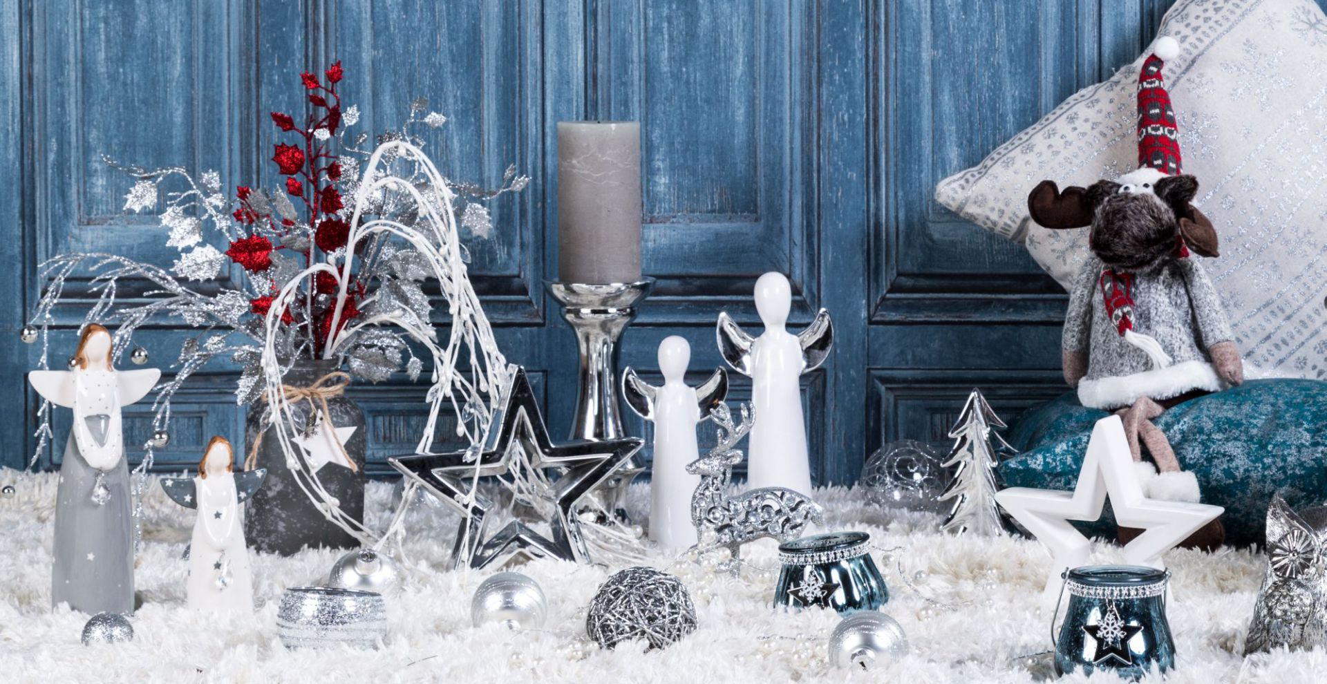 Świąteczne aranżacje. Fot. Agata SA
