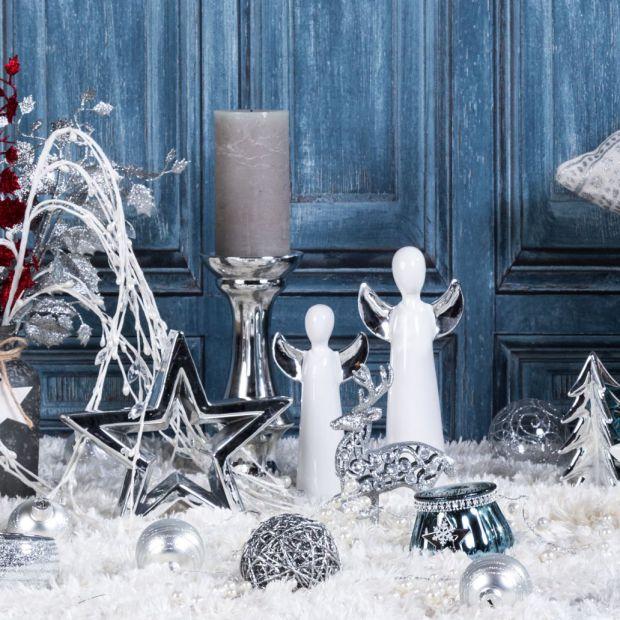3 świąteczne aranżacje: w stylu skandynawskim, klasycznym i glamour