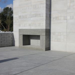 Aranżacja domu, tarasu i ogrodu. Kolekcja Alpamayo Libet Fassade. Fot. Libet