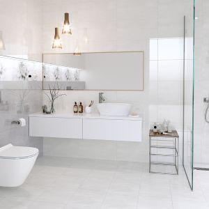 Aranżacja łazienki: piękna i praktyczna. Płytki Grissa. Fot. Cersanit