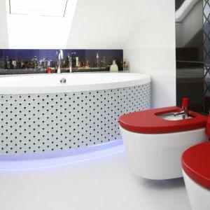 Aranżacja łazienki: praktyczne i piękne rozwiązania. Projekt: Marta Kilan. Fot. Bartosz Jarosz
