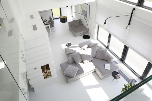 Jasny salon - 20 modnych wnętrz