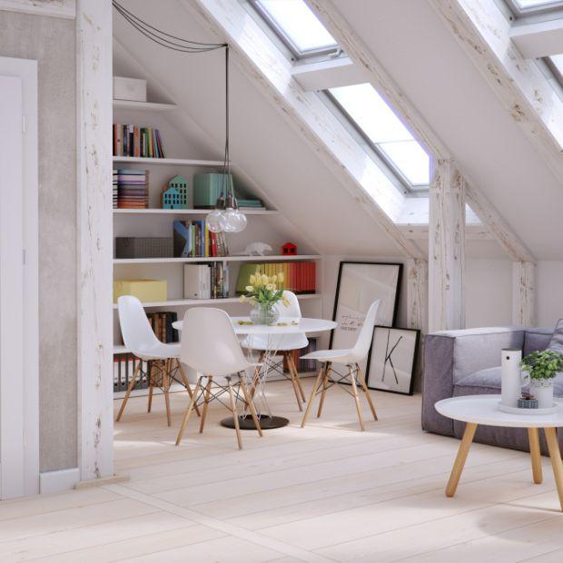 Mieszkanie w stylu skandynawskim - dopasuj drzwi wewnętrzne