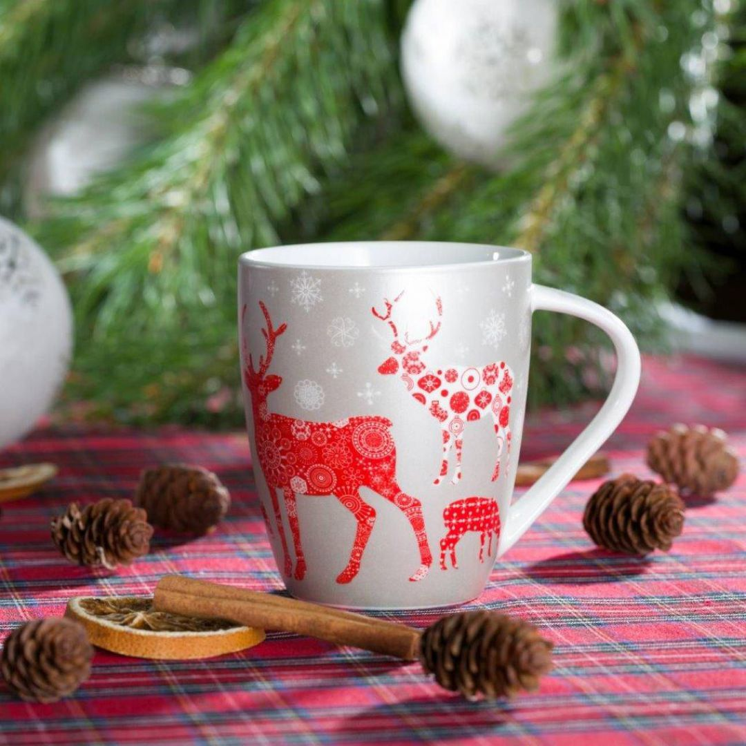 Kubek Christmas Reindeer. Fot. Dekoria.pl