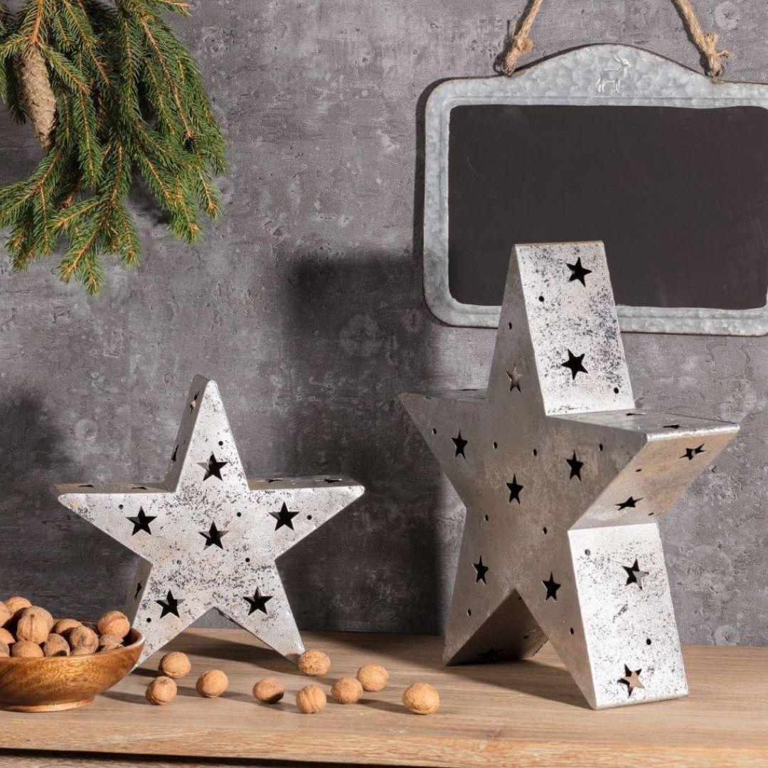 Pomysł na prezent: świecznik Christmas Star. Fot. Dekoria.pl