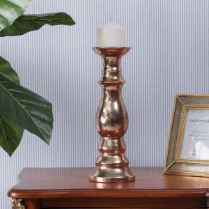 Pomysł na prezent: świecznik Glamour Copper. Fot. Dekoria.pl