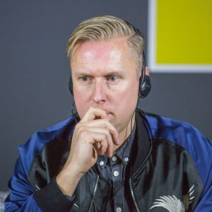 Rene Hougaard, Arde. V Forum Dobrego Designu. Sesja: Pokolenie nomadów – jak projektować dla dzieci mobilnej kultury. Fot. Piotr Waniorek.