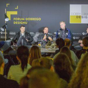FV Forum Dobrego Designu. Sesja: Pokolenie nomadów – jak projektować dla dzieci mobilnej kultury. Fot. Piotr Waniorek.