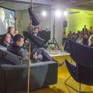 V Forum Dobrego Designu. Sesja: Pokolenie nomadów – jak projektować dla dzieci mobilnej kultury. Fot. Piotr Waniorek.