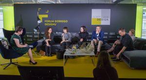 """Jakie kierunki wyznaczają dzisiaj przyszłość designu w Polsce i na świecie? O tym dyskutowano w trakcie sesji dyskusyjnej """"Ewolucja designu"""" w trakcie Forum Dobrego Designu 2017."""