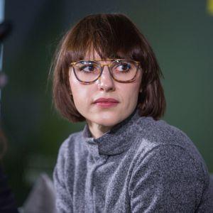 Wiktoria Lenart. V Forum Dobrego Designu. Sesja: Ewolucja wzornictwa. Czy ogranicza nas tylko wyobraźnia? Fot. Piotr Waniorek.