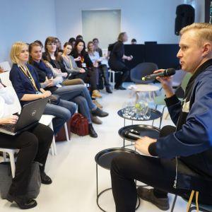 V Forum Dobrego Designu: Design Workshop z René Hougaardem. Fot. Tomasz Wawer.