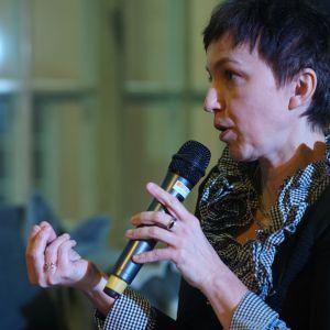 Monika Karwat-Bury. V Forum Dobrego Designu: sesja Design Starter. Fot. Tomasz Wawer.