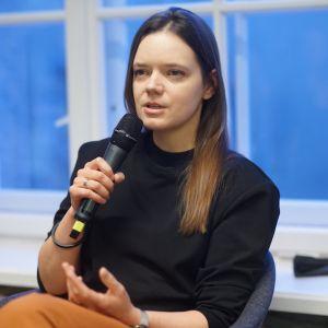 Daria Burlińska, DBWT. V Forum Dobrego Designu: Re-Design. W stronę zrównoważonej przyszłości. Fot. Tomasz Wawer.
