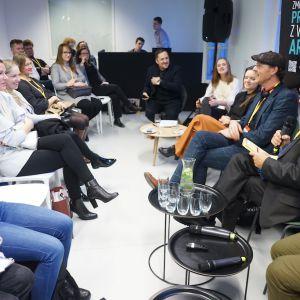 V Forum Dobrego Designu: Re-Design. W stronę zrównoważonej przyszłości. Fot. Tomasz Wawer.