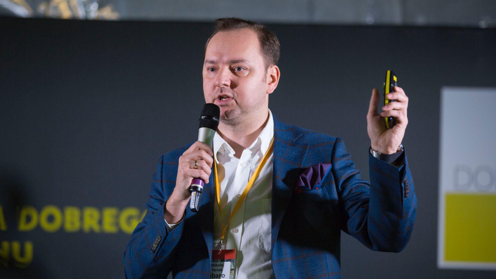 Mikołaj Pertek, Fibaro. Fot. Tomasz Wawer.