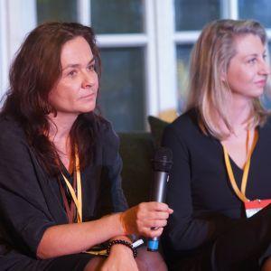 Magdalena Federowicz-Boule, architekt, prezes zarządu, Tremend, Magdalena Lubińska, prezes, Code Design. Fot. Tomasz Wawer.