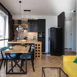 Mieszkanie w bloku. Projekt: Karolina Karwowska. Fot. Michał Młynarczyk
