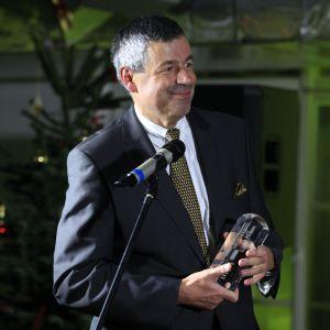 Prezes firmy Hörmann, Krzysztof Horała odebrał również statuetkę w kategorii Nagroda Konsumenta. Zdobyły ją drzwi wewnętrzne ConceptLine.